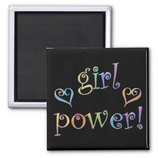 girl power! magnets