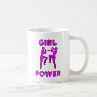 Girl Power Martial Arts Females Coffee Mug