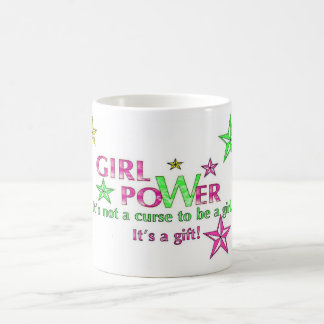 girl power mug