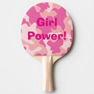 Girl Power Ping Pong Paddle