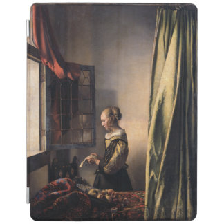 Girl Reading Letter at Open Window by Vermeer iPad Cover