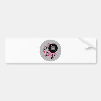 """Girl Rock Star"" Bumper Sticker"