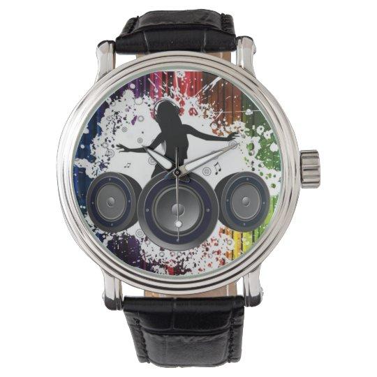 Girl Rocker Wrist Watch