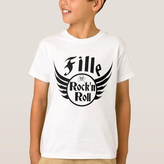 Girl Rock'n'roll T-Shirt