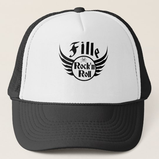 Girl Rock'n'roll Trucker Hat