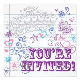 Girl s Birthday Sweet 16 Invite