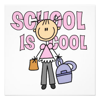 Girl School is Cool Invitation
