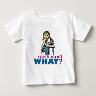 Girl Scientist Baby T-Shirt