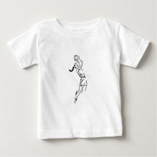 Girl Shooting Basketball Baby T-Shirt