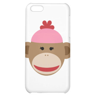 girl sock monkey iPhone 5C covers