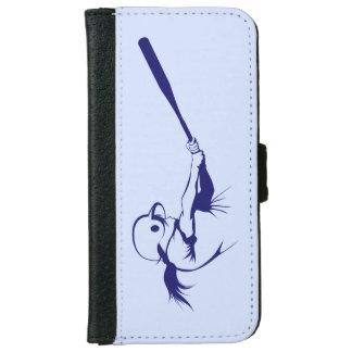 Girl Softball Hitter iPhone 6 Wallet Case