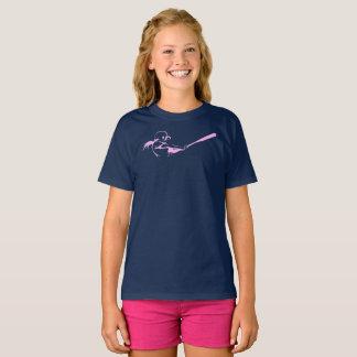 Girl Softball Hitter T-Shirt