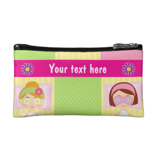 Girl Spa Birthday Party Guest Favor Makeup Bags