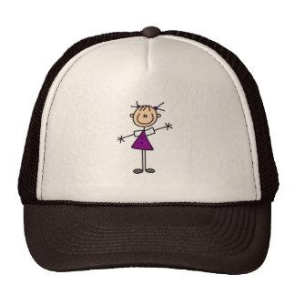 Girl Stick Figure Hat