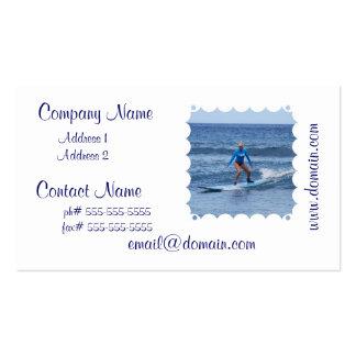 Girl Surfer Business Card