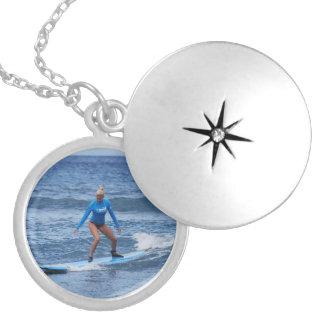 Girl Surfer Locket