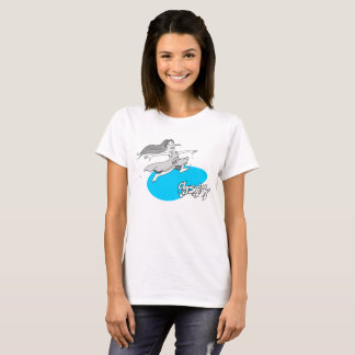 Girl T-shirt black