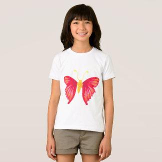 Girl T-shirt Butterfly Design