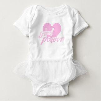 girl to power baby bodysuit