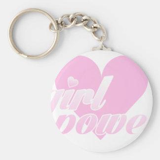 girl to power keychain