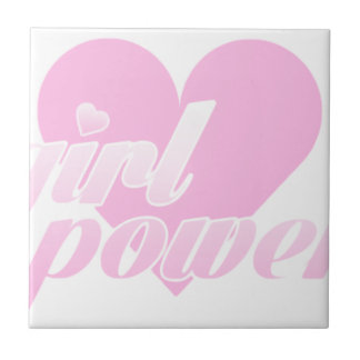 girl to power tile