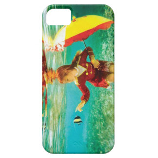 girl touching the fish iPhone 5 case