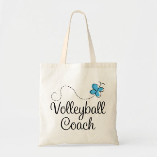 Girl Volleyball Coach Gift Tote Bag