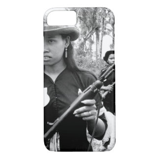 Girl volunteers_War Image. iPhone 7 Case