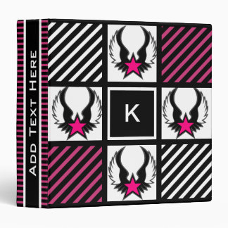 Girl Warrior Vinyl Binder