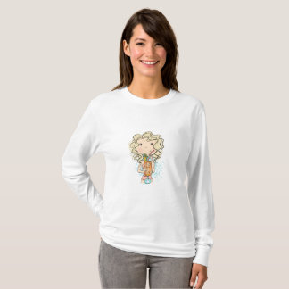 Girl With A Cocktail T-Shirt