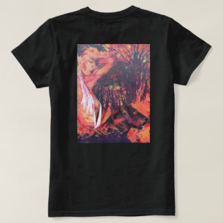 girl with a panther. T-Shirt