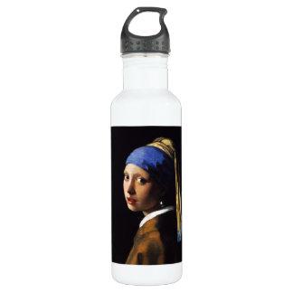 Girl with a Pearl Earring 710 Ml Water Bottle