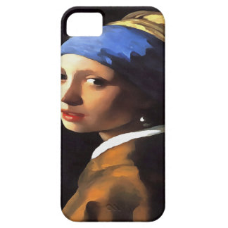 Girl with a Pearl Earring After Johannes Vermeer Case For The iPhone 5