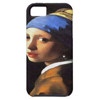 Girl with a Pearl Earring After Johannes Vermeer iPhone 5 Cases