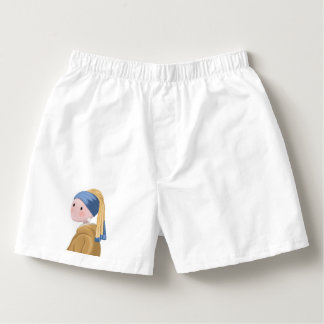 Girl with a Pearl Earring Boxers