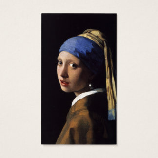 Girl with a Pearl Earring Business Card