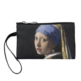 Girl with a Pearl Earring by Johannes Vermeer Coin Purse