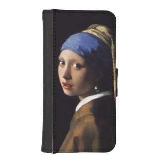 Girl With A Pearl Earring by Johannes Vermeer iPhone 5 Wallet Case