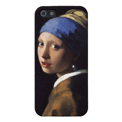 Girl With A Pearl Earring by Johannes Vermeer Covers For iPhone 5