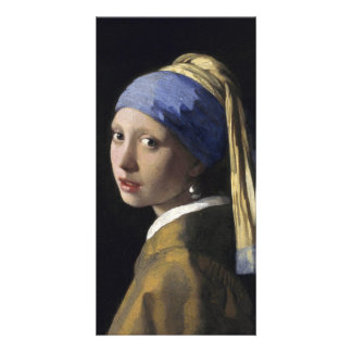 Girl with a Pearl Earring by Johannes Vermeer Photo Cards