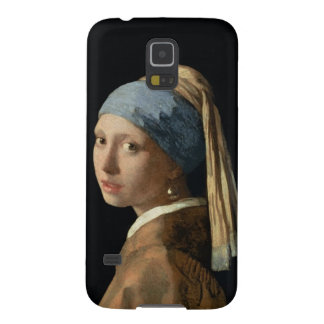 Girl with a Pearl Earring, c.1665-6 (oil on canvas Galaxy S5 Covers