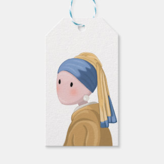 Girl with a Pearl Earring Gift Tags