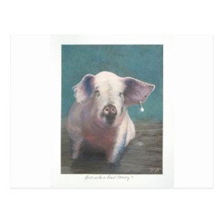 Girl with a Pearl Earring II Postcard