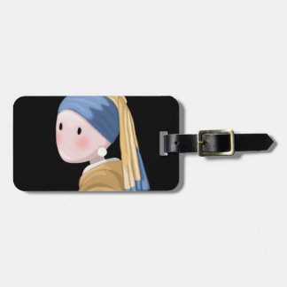 Girl with a Pearl Earring Luggage Tag