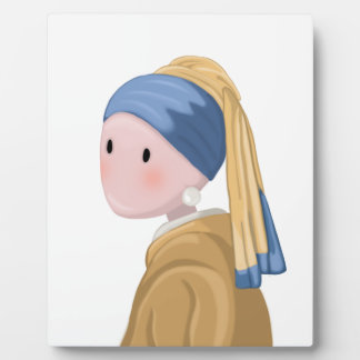 Girl with a Pearl Earring Plaque