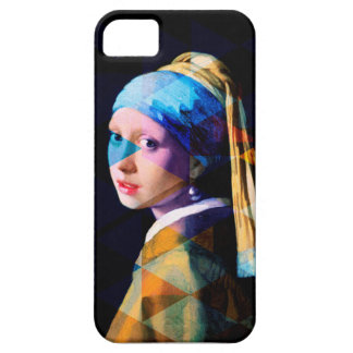 Girl with a pearl earring REMIXED iPhone 5 Cover