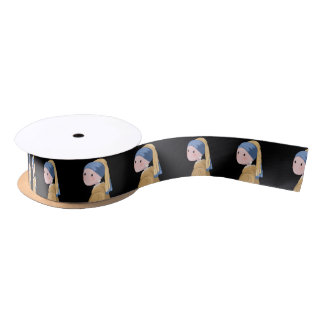 Girl with a Pearl Earring Satin Ribbon