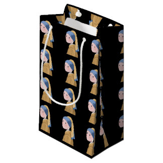 Girl with a Pearl Earring Small Gift Bag