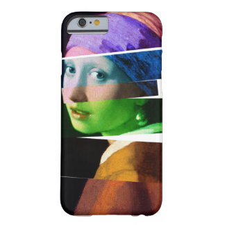 Girl with a pearl earring SPLICED Barely There iPhone 6 Case