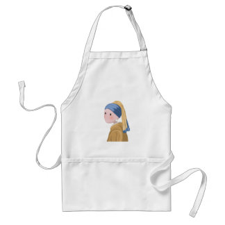 Girl with a Pearl Earring Standard Apron